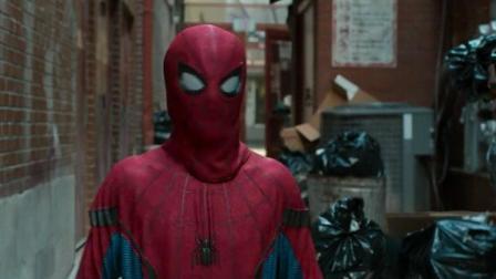 《蜘蛛侠: 英雄归来》: 小蜘蛛为民除害, 漫威之父又出来客串了