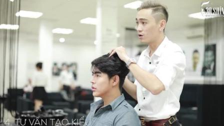 男生选对发色发型, 提升颜值肯定没问题!