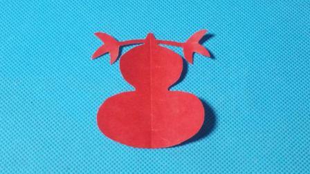 剪纸小课堂565: 剪纸葫芦2 儿童剪纸教程大全 折纸王子 亲子游戏