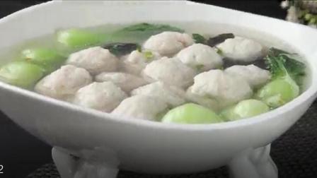 金牌美食之苏菜: 灌蟹鱼圆 洁白的, 珍珠一样的丸子