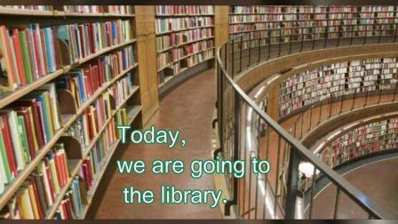 蒂芙尼家庭亲子英语: 带宝宝去图书馆 你会和他说的英文(1~3)