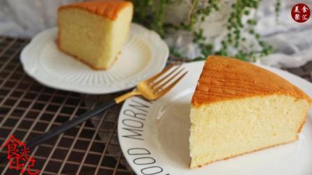 法式海绵蛋糕口感扎实、味道浓郁非常适合用于裱花蛋糕