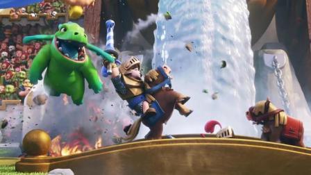 《糯米玩皇室战争第4期 围城双龙吐珠》儿童游戏 糯米解说
