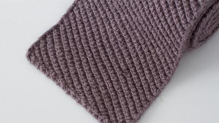 猫猫编织教程斜纹花围巾的织法棒针毛线编织教程猫猫很温柔新款花样
