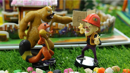 Kids小屋海绵宝宝的玩具 第一季 有趣的汉字 156