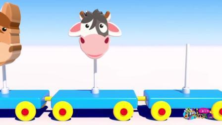 儿童早教欢乐谷 2017 制作卡通动物头像学习颜色 376