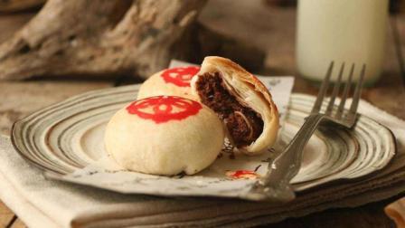 五仁酥皮月饼的做法, 五仁月饼这样做挺好吃!