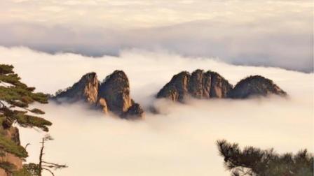 """带你到黄山之巅感受全新的视觉奇观""""云海"""""""