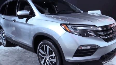 本田新款七座SUV中大车型, Pilot车身长4.9米, 搭载2.0T动力引擎