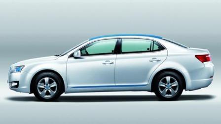 国产新能源汽车大有作为! 实拍华泰iEV230, 宾利脸, 续航里程达230km