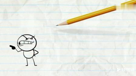 搞笑内涵漫画视频——铅笔人是这么运动的