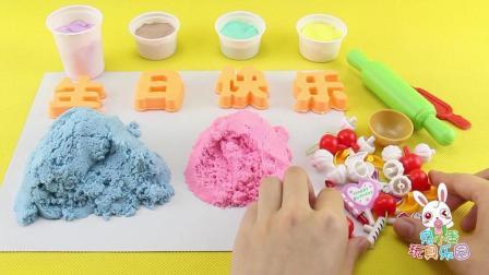 兔小蛋彩泥DIY 13 生日蛋糕 生日蛋糕