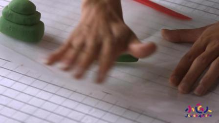 国庆特别手工制作: 自制超轻粘土作品视频 如何DIY超轻粘土做坦克