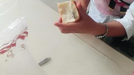 火龙果马琳酱面包