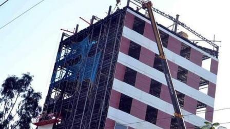 印度再创奇迹: 48小时建10层高楼, 号称600年不倒你敢住吗?