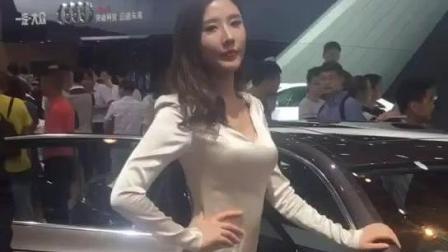 长腿美女车模, 这完美的小身材真是性感到没毛病