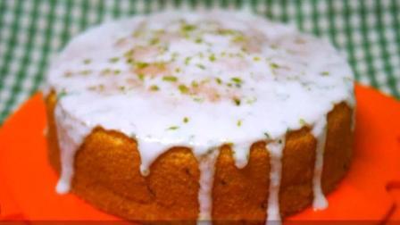 柠檬糖霜海绵蛋糕 (低油低糖版)