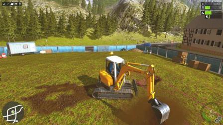 建筑工程师: 新司机, 今天开的是挖掘机