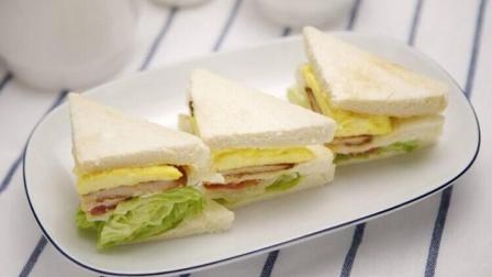 三种三明治早餐的做法, 美味可口又好看