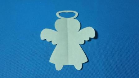 剪纸小课堂568: 剪纸天使 儿童剪纸教程大全 折纸王子 亲子游戏