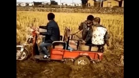 农村搞笑视频, 整人恶搞视频, 夫妻恶搞, 笑到肚