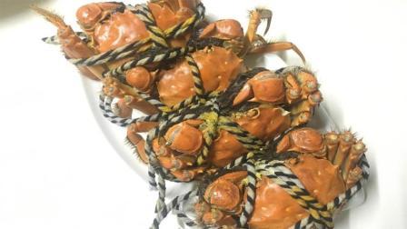 这才是清蒸大闸蟹的正确做法, 蟹膏完整无腥味, 现在知道还不晚