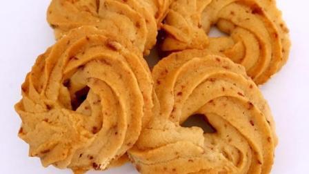 蔓越梅曲奇饼干的做法