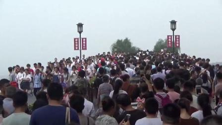 2017国庆节的杭州西湖