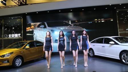 2017苏州车展: 北京现代, 美女模特秀!