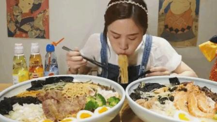 大胃王密子君還原動漫二次元日式拉面, 日本大胃王怕了?