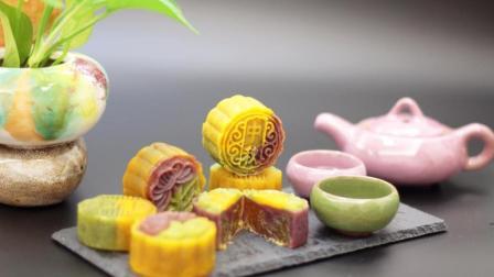 打破传统广式月饼的单一, 桃山皮果味月饼来袭, 手残党也能为中秋献身