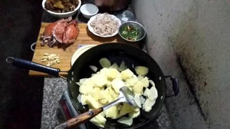老妈炒土豆片的做法