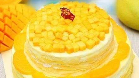 超好吃芒果千层蛋糕, 做法这么简单