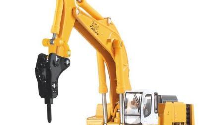 儿童挖掘机 挖机工程车挖掘机工作视频表演14