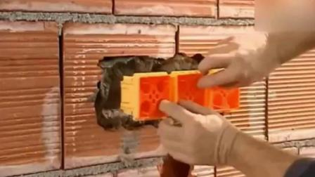看了德国水电工安装插座的过程, 工匠精神果然让人安心