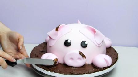 国外大神做蛋糕, 就是厉害, 这么漂亮的蛋糕你舍得吃掉吗?