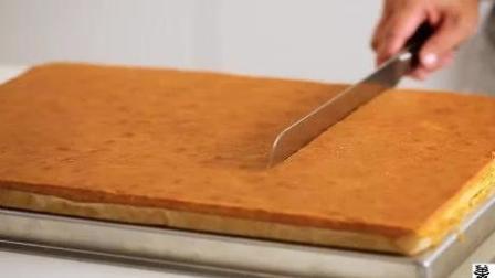 外国美女手把手教你制作草莓巧克力蛋糕(3)