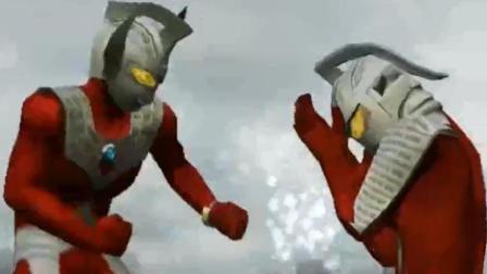 奥特曼格斗进化2泰罗奥特曼vs赛文奥特曼。