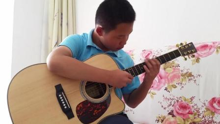 【吉他指弹】刘嘉卓指弹井草圣二-花火(刘嘉卓指弹吉他)