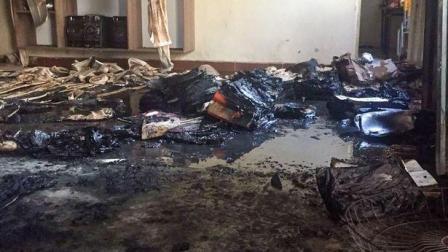 巴西幼儿园保安向孩子泼汽油点火 至少5人被烧死