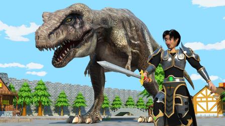 原创动画《恐龙的宿敌》第11集:房顶怪的终结
