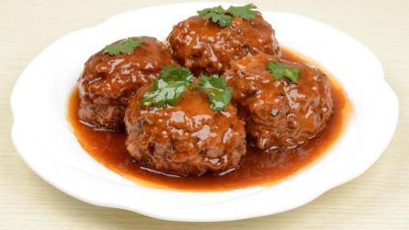 四喜丸子也叫红烧狮子头怎么做才好吃呢? 家常做法教程