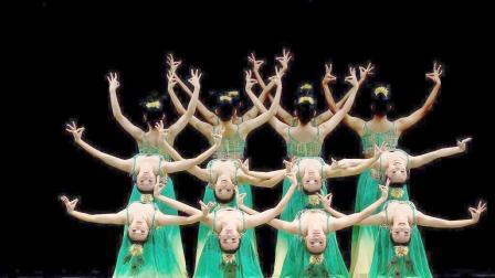 大型专业舞蹈-踏春(选用音乐: 常思思-炫境)