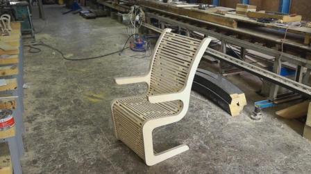 国外木匠打造逍遥椅全过程, 真正的工匠!