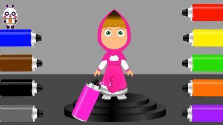儿童早教欢乐谷 2017 给小红帽设计彩色衣服学习颜色 384