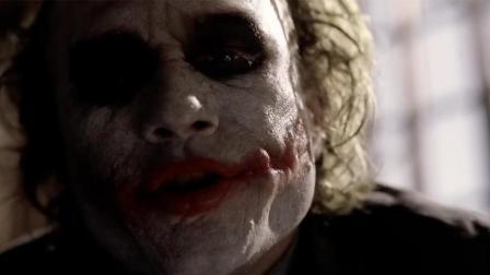 蝙蝠侠中的小丑演技有多强? 几分钟看完《黑暗骑士》最强反派小丑