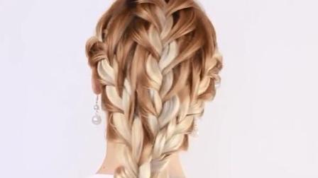 俄罗斯姑娘是怎么编头发的(21) 福利视频教程