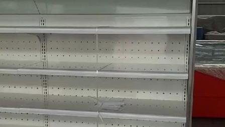 元孚超市蔬菜水果保鲜柜展示柜商用点菜柜风幕柜 饮料展示柜冷藏