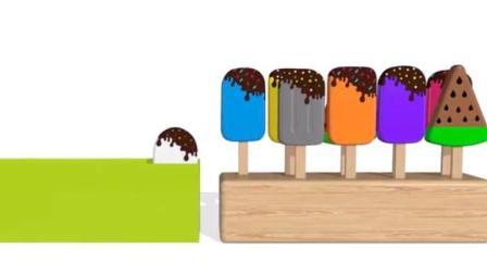 制作冰淇淋的玩具模具 做汉堡和蛋糕玩具视频63