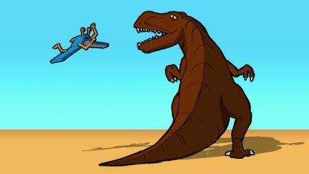 原创动画《恐龙的宿敌》第1集:神秘怪物登场